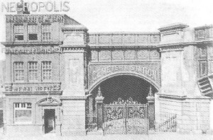 The First London Necropolis terminus