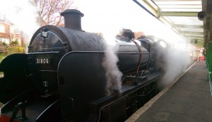 Swanage Railway Steam train
