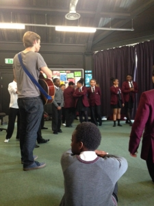 Students workshop at St Marks Academy