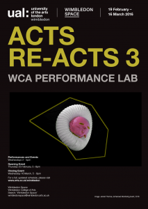 ACTS RE-ACTS 3