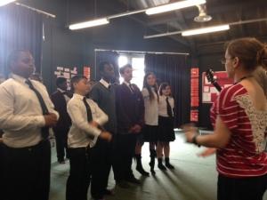 Workshop at St Marks Academy